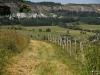 Blick auf Hildfeld mit dem Diabas-Steinbruch