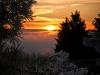 Sonnenuntergang am Kahlen Asten