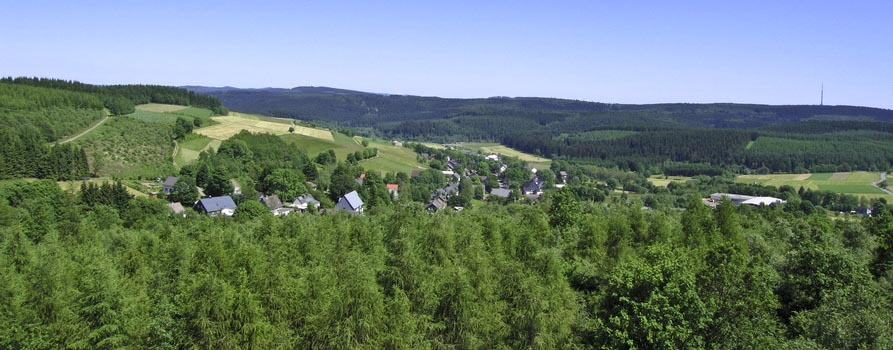 Aussicht Siegerland Höhenring