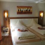 Schlafzimmer in Ferienwohnung