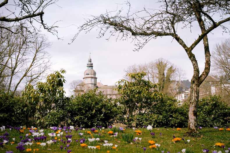 Schlosspark in Bad Berleburg