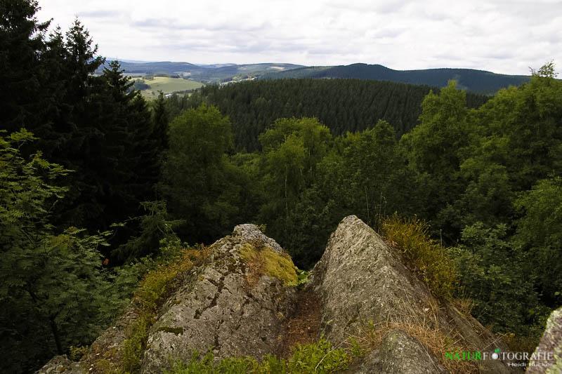Aussicht von den Oberhundemer Klippen